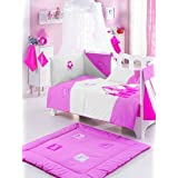 Princess Collection 100% Cotton Cot Bed 4.5 Tog Quilt/Duvet