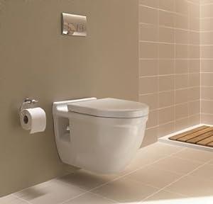 Amazon.com - Duravit D19042 Starck 3 Wall mounted Toilet