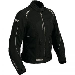 Strada Noir ~ Femme Ixon Sport Textile Blouson TailleS IW2EDH9