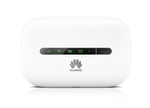 Huawei E5330 21 Mbps 3G Mobile Wifi Hotspot (3G In Europe, Asia, Middle East, Africa & T-Mobile Usa) (White)