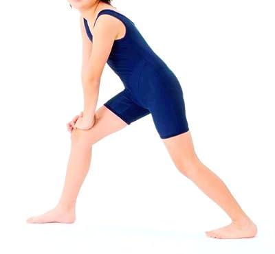 スクールフィットネススーツ水着コン 女児用150 学校水泳授業で人気のオールインワン型スクール水着(前面総裏地付き)