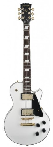 "Stagg L400-Wh Classic Rock ""L"" Electric Guitar - White"