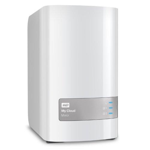 """WD My Cloud Mirror Serveur NAS 3,5"""" 4 To Blanc (2ème génération)"""