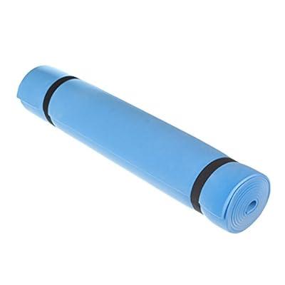 Fytter Gymnastikmatte für Yoga und Pilates, für Fitness, Blau, 4 m