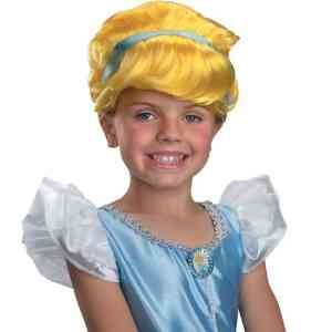 Disney Princess Cinderella Halloween Wig - 1