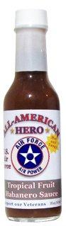 All-American Hero Hot Sauce U.S. Air Force