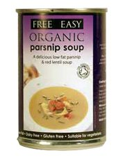 Free Natural Organic Pastinake Suppe 400g