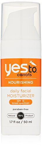 Yes To Carrots Daily Facial Moisturizer SPF 15, 1.7 Fluid Ounce - 1