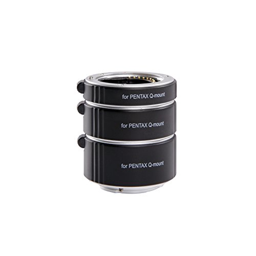 Movo Photo AF Macro Extension Tube Set for Pentax Q Mirrorless Camera System with 10mm, 16mm & 21mm Tubes (Metal Mount) (A Picture Of A Q compare prices)