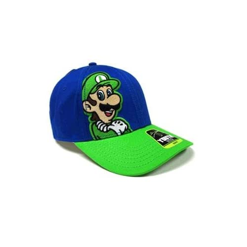 Super Mario  LUIGI Youth Size Baseball Cap   Adjustable strap