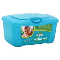 Pampers Pampers Wipes Natural Aloe, Unscented 77 ea