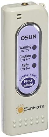 "Osun SM0010 SunMate UV Detector, 1-25/128"" Length x 1/2"" Width x 3-19/64"" Height"