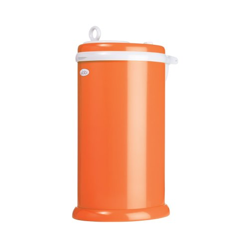Ubbi Diaper Pail (Orange)