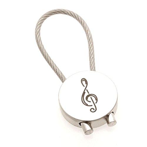 Schlsselanhnger-Violinschlssel-Notenschlssel-aus-Metall-Schnes-Geschenk-fr-Musiker