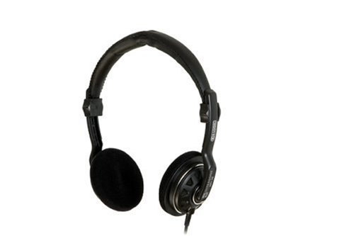 Ultrasone Hfi-15G S-Logic Surround Sound Professional Headphones - Black
