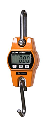 T-king(TM) Mini Digital Hanging Scale 300kg/600LBS OCS-L Industrial Crane Scale Heavy Duty Weighing Scale