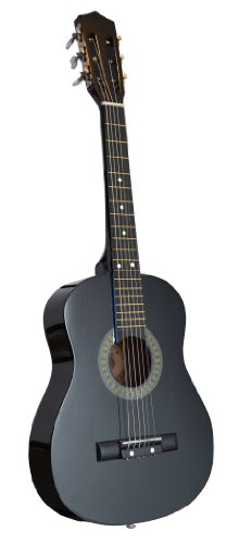 32-Inch-12-Half-Size-BLACK-Kids-Acoustic-Toy-Guitar-DirectlyCheapTM-Translucent-Blue-Medium-Guitar-Pick