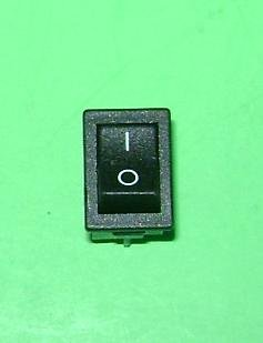 Arco Electric 10 Amp 250 Vac, Spst On Off Mini Rocker Switch .50 X .75 Mounting