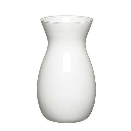 """Syndicate Sales 8"""" Jordan Vase, White"""