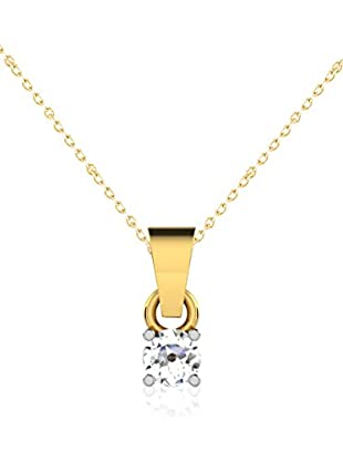 Friendly Diamonds Conjunto de cadena y colgante FDP6256Y Oro Amarillo
