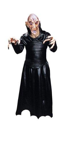 Robe Leather Like Black