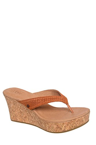 W Natassia Mar High Wedge Flip Flop Sandal
