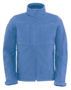 B&C Collection Hooded Softshell / Men Azure L