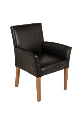 SAM-Esszimmer-Armlehnenstuhl-Relaxsessel-Baceno-in-braun-SAMOLUX-Bezug-Stuhl-mit-buche-farbenen-Beinen-aus-Massiv-Holz-Esszimmerstuhl-mit-angenehmer-Polsterung-fr-hohen-Sitzkomfort
