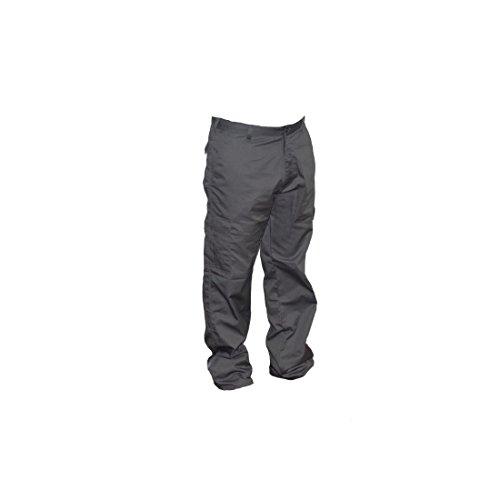 Lee Cooper Workwear, Pantaloni cargo da lavoro, LCPNT205, Grigio (grau), 34 w/32 l