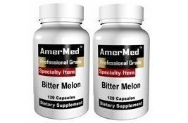 Bitter Melon Extract 600mg, 120 Capsules (2 Bottles) (Melon Extract compare prices)