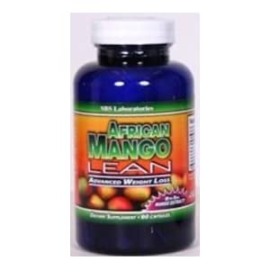 SBS Laboratories -60 capsule AFRICAN MANGO extract Lean Plus Advanced Weight Loss Diet Pills 1200 mg AFRICAN MANGO Pure Irvingia Gabonensis Natural