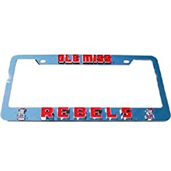 Ole Miss Rebels License Plate Tag Frame