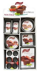 Home Basics 96-Piece Assorted Non-Stick Bakeware