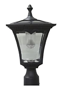 Amazon.com : Lily's Home Solar Lamp Post Light - Coach