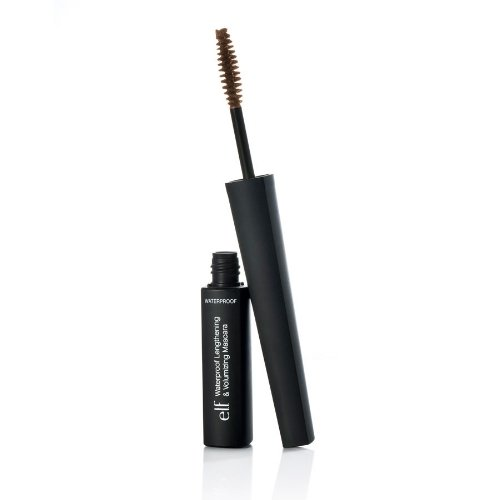 e.l.f. Studio Waterproof Lengthening & Volumizing Mascara Black Brown