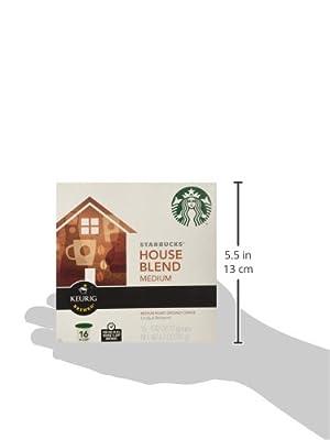 Starbucks House Blend K-Cup Portion Pack for Keurig Brewers