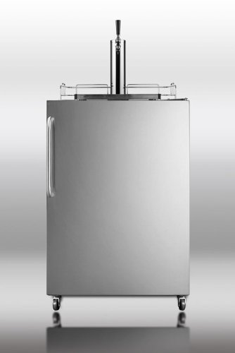 Summit Sbc490Os Professional 24 Stainless Steel Beer Dispenser