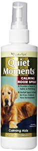 NaturVet Quiet Moments Herbal Calming Spray, 8 Ounce- Canine