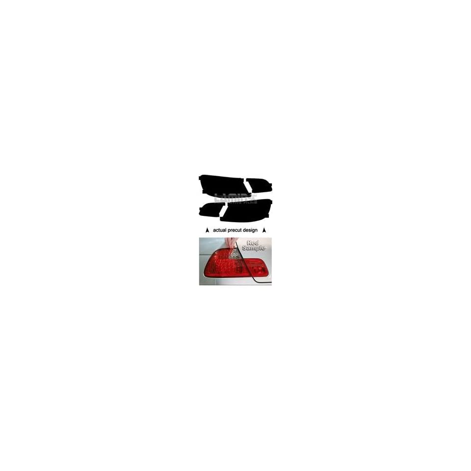 BMW E93 Convertible [3 Series] 2007 2008 2009 2010 Tail Light Vinyl Film Covers ( RED ) by Lamin x