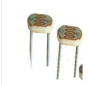 PODOY 20PCS Photoresistor GL5537 5537 LDR Photo Resistors Light-Dependent