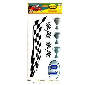 PlasmaCar Sticker Set - Racing - 1