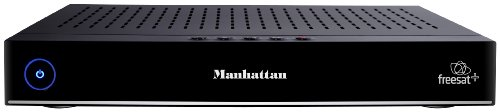 Manhattan Plaza HDR-S HD Freesat Receiver and PVR with Built-In 320GB HDD