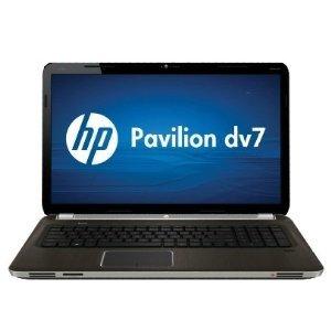 "HP Pavilion DV7T DV7 Laptop / Intel CoreTM i5-2430M Processor/ USB 3.0 / 17.3"" HD Display / 6GB Memory / 640GB Hard Drive / Blu-Ray / 1Gb AMD VideoCard / FingerReader / 2 Year Warranty - Dark Umber"