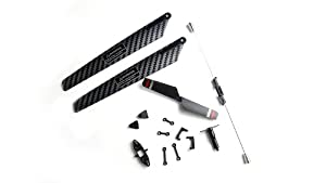 MJX F645 F45 RC HELICOPTER REPLACEMENT SPARE PARTS SET *RED COLOR