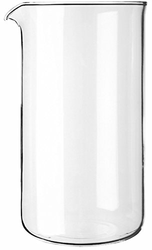 Cozyna Universal, 1L | 34oz, Borosilicate Spare Glass Carafe Beaker for All Brands French Press Coffee and Espresso Maker, 8-cup