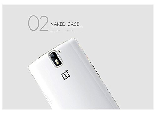 BEPAK Hard PC Transparent Crack Resistant Crystal Back Case Cover For OnePlus One