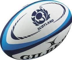 GILBERT Scotland International Replica Mini Rugby Ball , Mini - Scotland