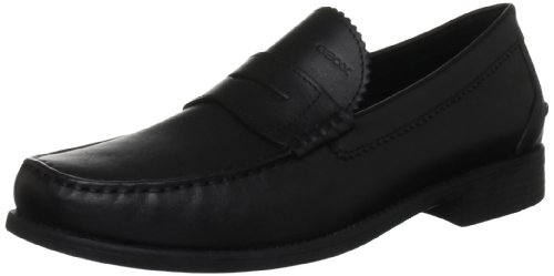 Geox Men's U Damon B Black Penny Loafer U24W6B43C9999 9.5 UK, 43.5 EU
