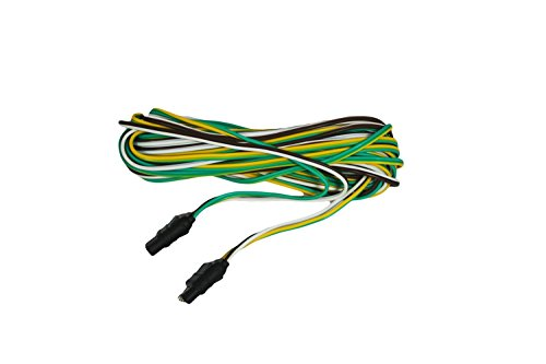 ABN 4 Way 4 Pin Plug Flat 20 Gauge Trailer Light Wiring Harness Extension 4ft