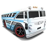 HOT WHEELS HW CITY 2014 RELEASE WHITE SURFIN SCHOOL BUS DIE-CAST